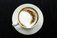 在咖啡之上 免版税库存照片