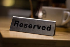 在咖啡店的后备的桌在呵叻,泰国 免版税库存图片