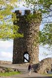 在哈伯德公园的城堡克雷格 免版税图库摄影