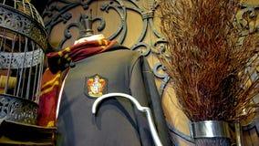 在哈利・波特Wizarding世界的电影布景  免版税图库摄影