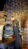在哈利・波特Wizarding世界的电影布景  库存图片