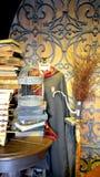 在哈利・波特Wizarding世界的电影布景  图库摄影