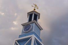 在哈利法克斯港的小钟楼  图库摄影