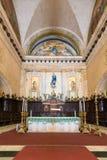 在哈瓦那大教堂的法坛  库存图片
