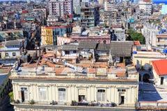 在哈瓦那,古巴的看法 库存照片