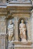 在哈罗,拉里奥哈教会的雕象  免版税库存图片