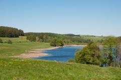 在哈茨山山的水库在德国 免版税库存图片