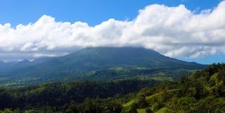 在哥斯达黎加中美洲volcan激活的阿雷纳尔火山 图库摄影