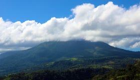 在哥斯达黎加中美洲volcan激活的阿雷纳尔火山 免版税库存图片