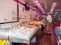 在唐人街的鱼市在纽约 库存照片