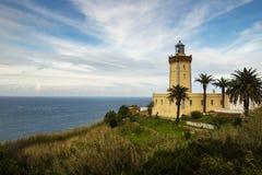 在唐基尔西部的海角Spartel,摩洛哥 库存图片