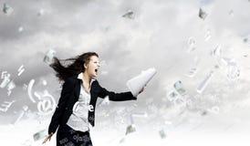 在商业的挑战 免版税库存图片