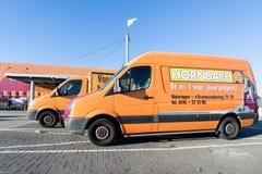 在商店的霍恩巴赫搬运车 免版税库存图片