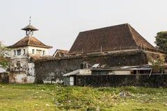 在喀拉拉状态的Paradesi犹太教堂在南印度 免版税库存图片
