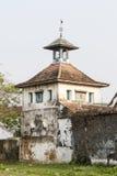 在喀拉拉状态的Paradesi犹太教堂在南印度 图库摄影