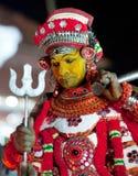 在喀拉拉状态,南印度的Theyyam仪式 库存图片