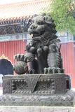 在喇嘛教徒寺庙Yunhegun 库存图片