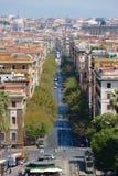在喜爱的罗马附近的长的步行 库存图片