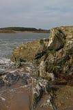 在四英里桥梁, Anglesey附近的清早 免版税库存照片