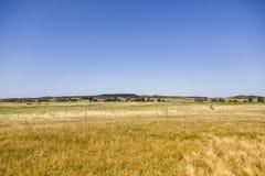 在因塞尔希登塞海岛的荒地风景 免版税库存照片