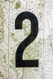 在困厄的状态印刷术被找到的第二2的书面字词 免版税库存照片
