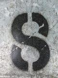 在困厄的状态印刷术被找到的第八8的书面字词 免版税库存图片