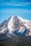 在国君通行证附近的科罗拉多落矶山脉 免版税库存图片