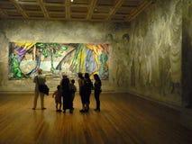 在国家肖像馆的博览会在伦敦 免版税图库摄影