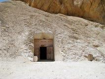在国王的谷的坟茔 库存照片