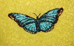 在图片的蝴蝶 免版税库存照片