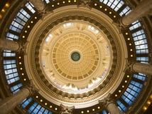 在圆形建筑里面在爱达荷状态国会大厦 图库摄影