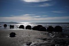 在圆的岩石 免版税图库摄影