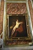 在圆顶场所Borghese罗马意大利的绘画 免版税库存照片