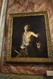 在圆顶场所Borghese罗马意大利的绘画 免版税库存图片