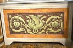 在圆顶场所Borghese罗马意大利的Painnting 库存图片