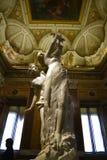 在圆顶场所Borghese罗马Ital的贝尔尼尼雕象 免版税库存照片
