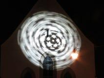 在圈子的移动的星 库存图片