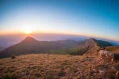在土井星期一崇公,清迈,泰国的风景 库存图片