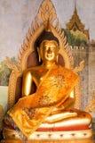 在土井素贴,清迈,泰国的雕象 库存图片