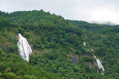 在土井Inthanon国家公园,泰国的瀑布 库存图片