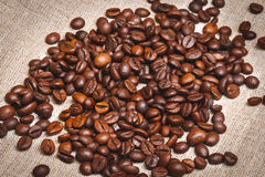 在土气样式的咖啡 免版税图库摄影