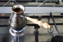 在土耳其人的咖啡 免版税图库摄影