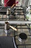 在土耳其人的咖啡 免版税库存照片