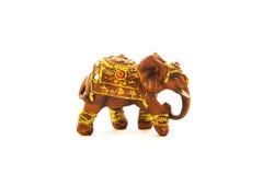 在土耳其大象的印地安人 库存图片