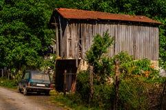 在土耳其村庄的村庄 免版税图库摄影