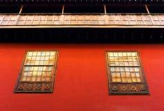 在圣克里斯托瓦尔de la拉古纳的建筑细节 免版税图库摄影