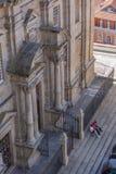 在圣劳伦斯湾教会的鸟瞰图 库存图片