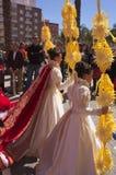 在圣周的复活的,星期天女王/王后的法院一天 库存图片