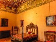 在圣天使城堡里面 免版税库存图片