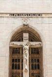 在圣彼得教会的十字架在芝加哥 免版税库存照片